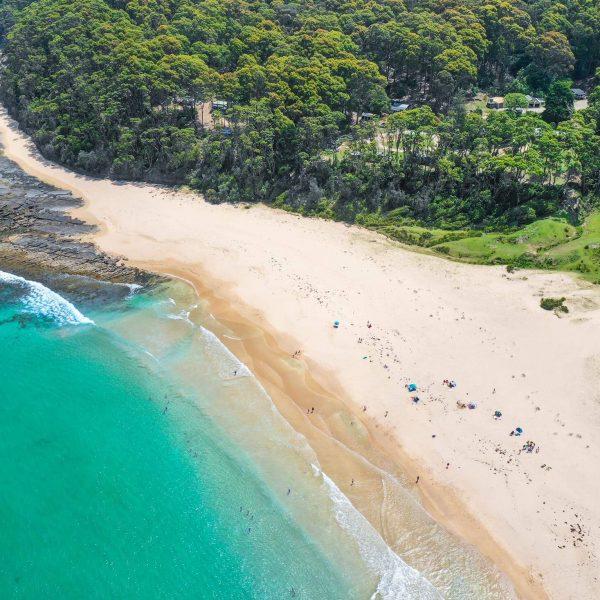 Pebbly Beach - Aerial View